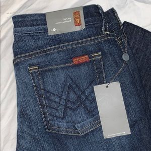 7 For All Man Kind 'A' Pocket Flare Leg Jeans